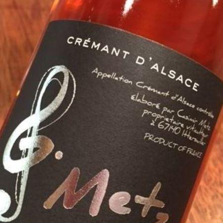 Domaine Gerard Metz Rosé Crémant d'Alsace Pinot Noir NV