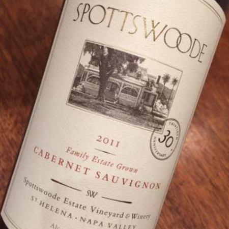 Spottswoode Napa Valley Cabernet Sauvignon NV