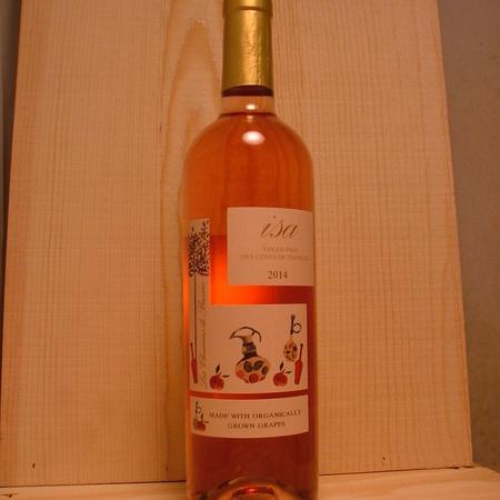 Les Chemins de Bassac Isa Côtes de Thongue Rosé Blend NV