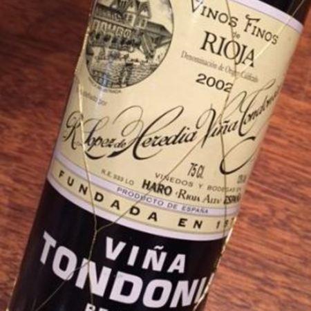 R. López de Heredia Viña Tondonia Reserva Rioja Blanco Malvasia Viura 2004