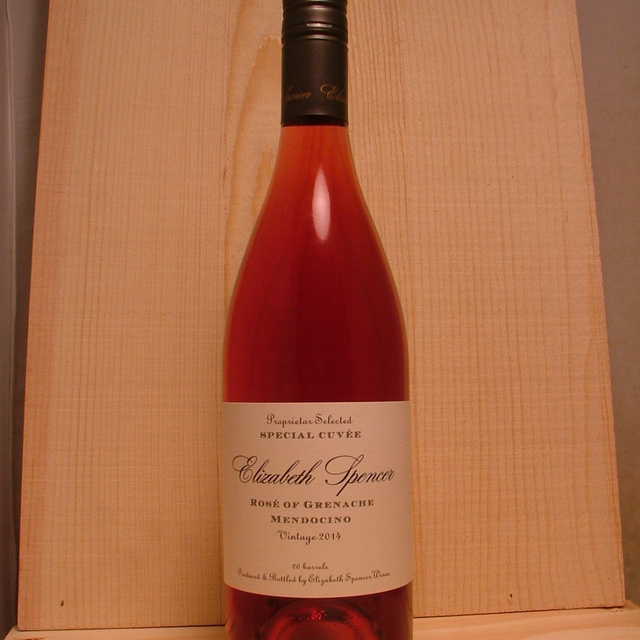 Special Cuvée Mendocino Rosé of Grenache 2014