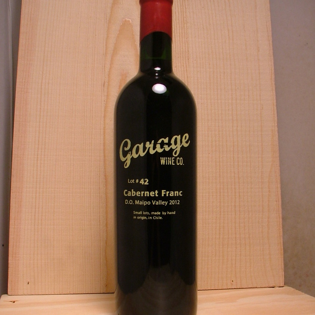 Lot #42 Maipo Valley Cabernet Franc 2012
