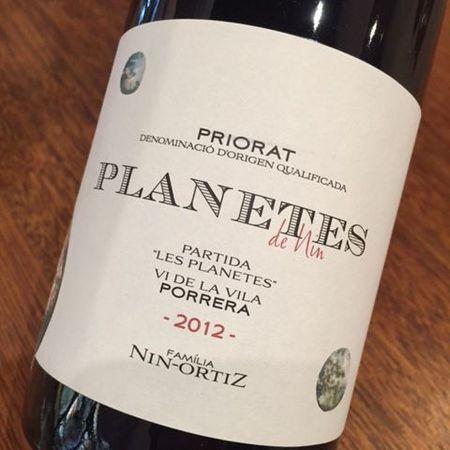 Familia Nin-Ortiz Planetes de Nin Partida Les Planetes Vi De La Vila Porrera Priorat 2012