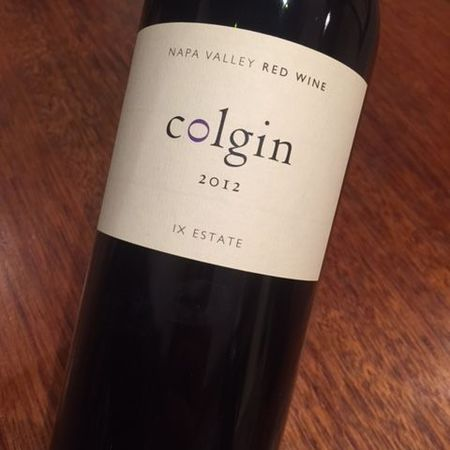 Colgin IX Estate Napa Valley Cabernet Sauvignon Blend 2012