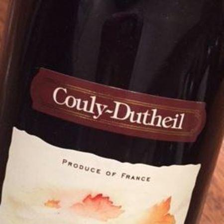 Couly-Dutheil Chinon Cabernet Franc 2012