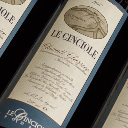 Le Cinciole Chianti Classico Sangiovese Blend 2012