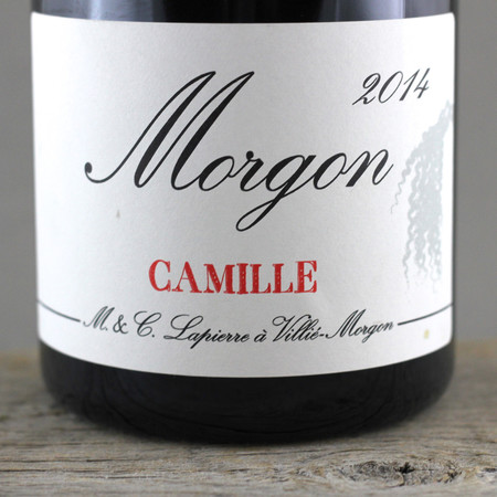 Marcel Lapierre Camille Morgon Gamay 2014 (1500ml)