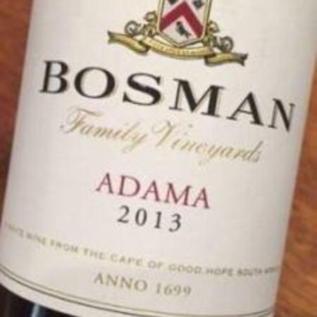 Bosman Family Vineyards Adama White Blend 2013