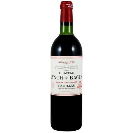 Château Lynch-Bages Pauillac Red Bordeaux Blend 1989