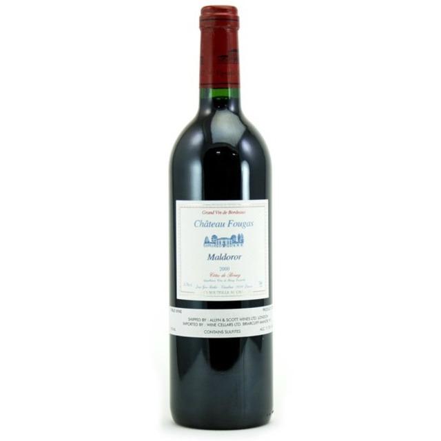 Maldoror Côtes de Bourg Merlot Cabernet Sauvignon 2000