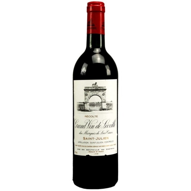 Grand Vin de Leoville du Marquis de las Cases Saint-Julien Red Bordeaux Blend 1996