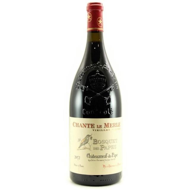 Chante Le Merle Vieilles Vignes Châteauneuf-du-Pape Red Rhône Blend 2012 (1500ml)