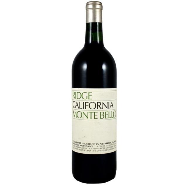 Monte Bello Vineyard Cabernet Sauvignon Blend 2012