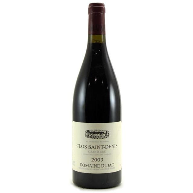 Clos Saint-Denis Grand Cru Pinot Noir 2003