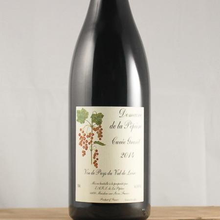 Domaine de la Pépière Cuvée Granit Vin de Pays du Val de Loire Cabernet Franc Blend 2015