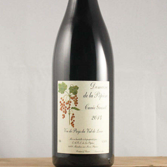 Cuvée Granit Vin de Pays du Val de Loire Cabernet Franc Blend 2014