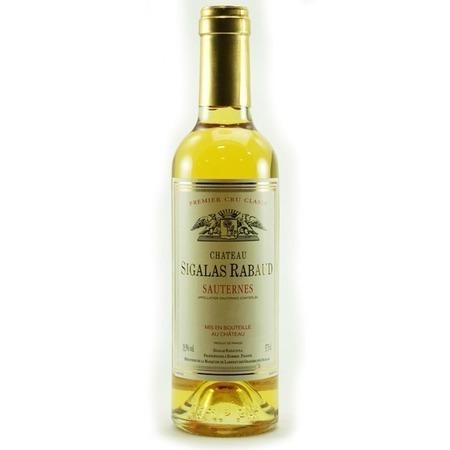 Château Sigalas Rabaud Premier Cru Classé Sauternes Sémillon-Sauvignon Blanc Blend 2010 (375ml)