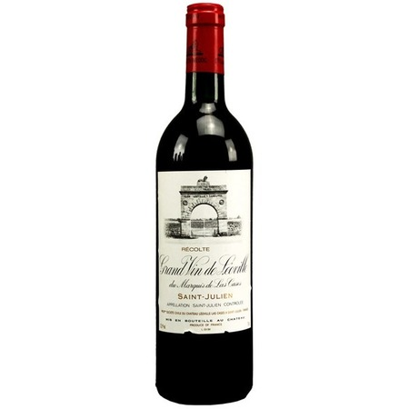 Château Léoville-Las Cases Grand Vin de Leoville du Marquis de las Cases Saint-Julien Red Bordeaux Blend 2000