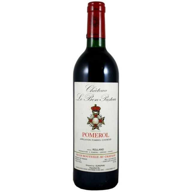 Pomerol Red Bordeaux Blend 1982
