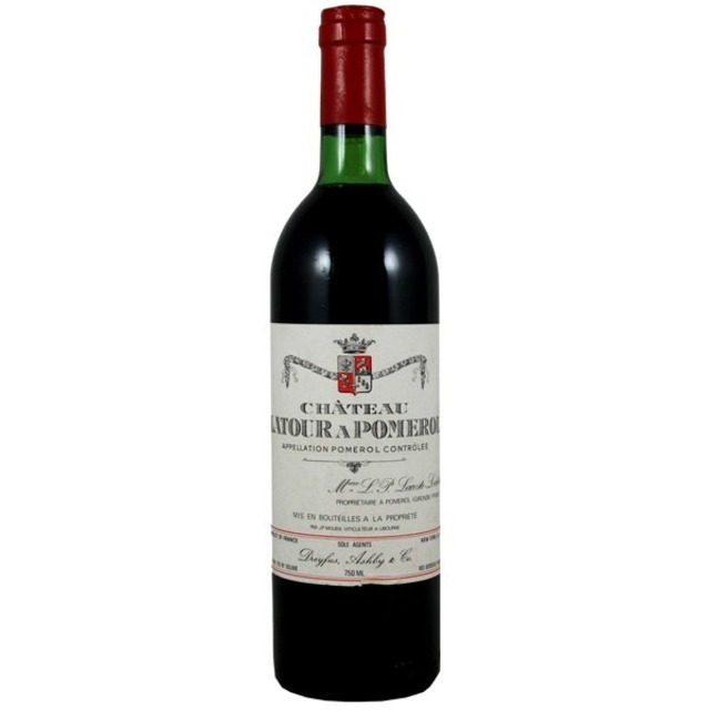 Pomerol Red Bordeaux Blend 1990