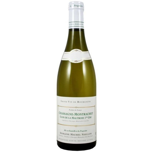 Clos de la Maltroie Chassagne-Montrachet 1er Cru Chardonnay 2012