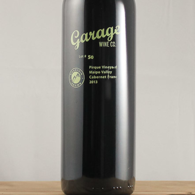 Lot #50 Pirque Vineyard Cabernet Franc 2013