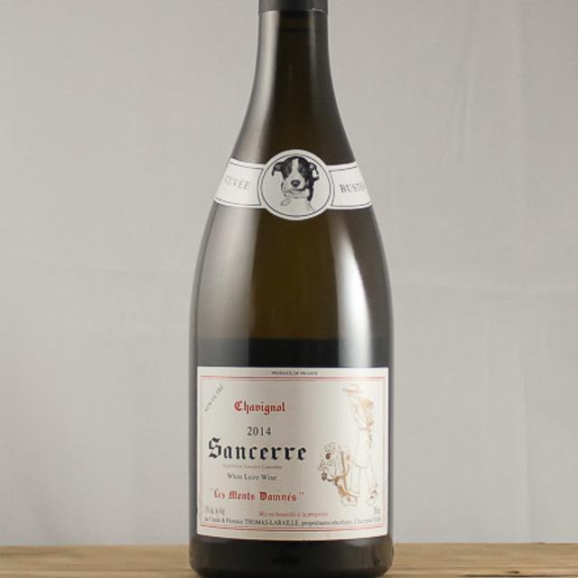 """Cuvee Buster """"Les Monts Damnés"""" Chavignol Sancerre Sauvignon Blanc 2014"""