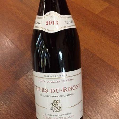 Charles Thomas Côtes du Rhône Red Rhône Blend NV