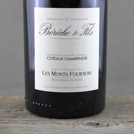 Bérêche & Fils Les Monts Fournois Coteaux Champenois Ludes 1er Cru Blanc White Blend 2013