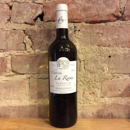 Château La Rame Bordeaux Sauvignon Blanc 2016