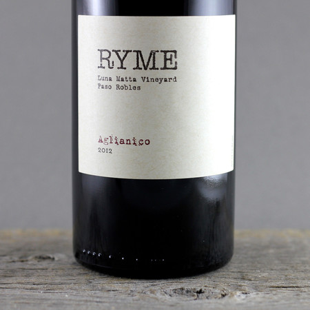 Ryme Cellars Luna Matta Vineyard Aglianico  2013