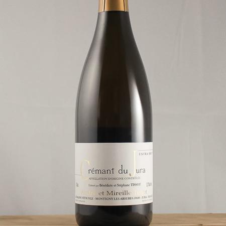 Domaine André et Mireille Tissot Bénédicte et Stéphane Tissot Extra Brut Crémant du Jura Chardonnay NV