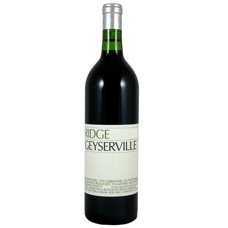 Ridge Vineyards Geyserville Vineyard Zinfandel Blend 2013 (1500ml)