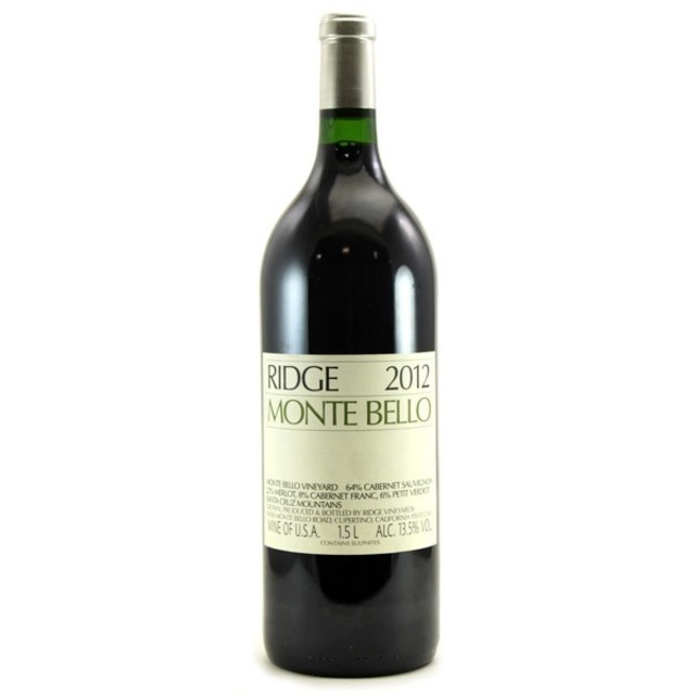 Monte Bello Vineyard Cabernet Sauvignon Blend 2012 (1500ml)