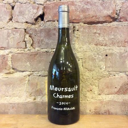 François Mikulski Charmes Meursault 1er Cru Chardonnay 2014