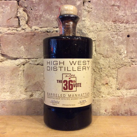 High West Distillery The 36th Vote Barreled Manhattan NV