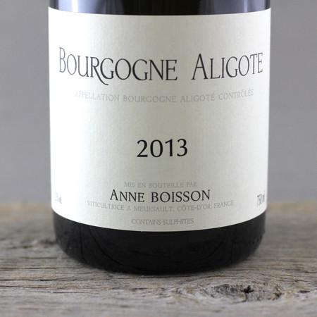 Anne Boisson Bourgogne Aligoté  2013