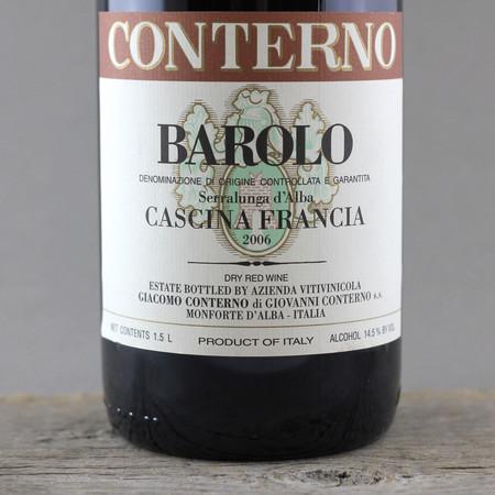 Giacomo Conterno Cascina Francia Barolo Nebbiolo 2006 (1500ml)