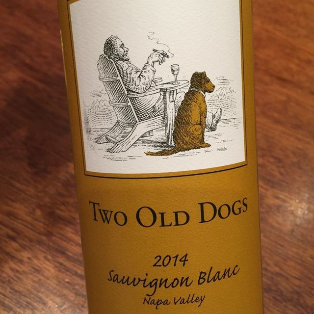 Two Old Dogs Napa Valley Sauvignon Blanc 2014