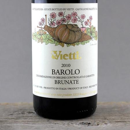 Vietti Brunate Barolo Nebbiolo 2010