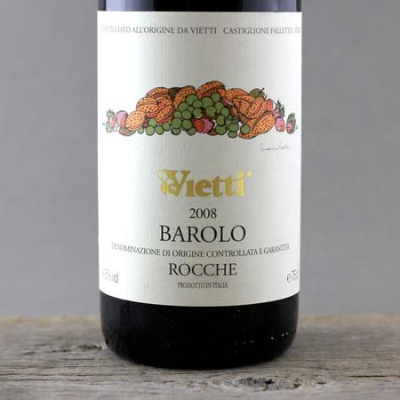 Vietti Rocche Barolo Nebbiolo 2008
