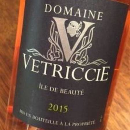 Domaine Vetriccie Ile de Beauté Rosé Blend NV