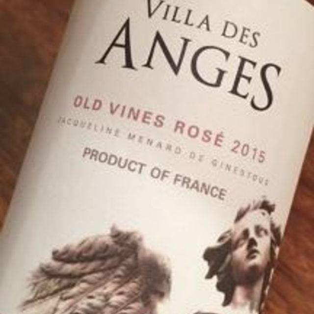 Old Vines Rosé Cinsault 2015