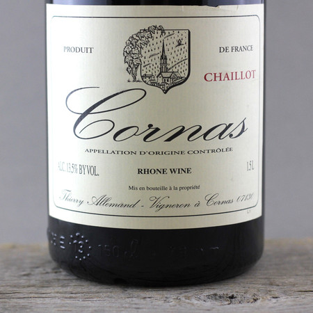 Thierry Allemand Chaillot Cornas Syrah 2008 (1500ml)