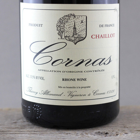 Thierry Allemand Chaillot Cornas Syrah 2009 (1500ml)