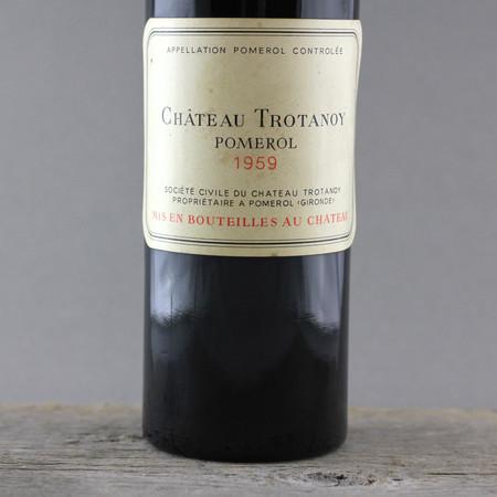 Château Trotanoy Pomerol Red Bordeaux Blend 1959