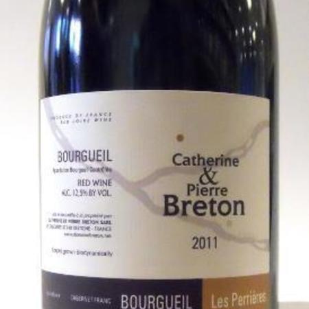 Catherine et Pierre Breton Les Perrières Bourgueil Cabernet Franc 2011