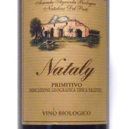 Azienda Agricola Natalino del Prete Nataly Salento Primitivo 2015