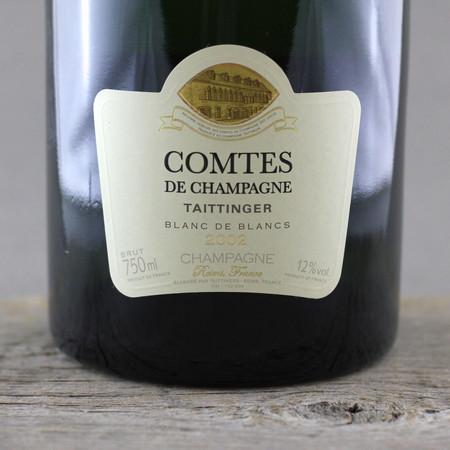 Taittinger  Comtes de Champagne Brut Blanc de Blancs Champagne Chardonnay 2002
