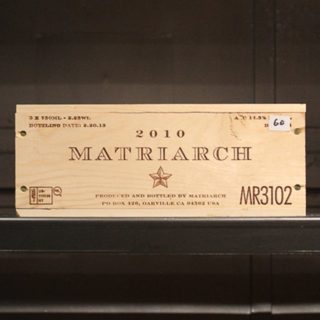 Matriarch Napa Valley Red Bordeaux Blend 2010